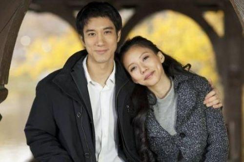 王力宏与妻子李靓蕾