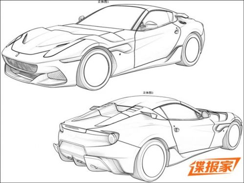 简笔画未来的汽车