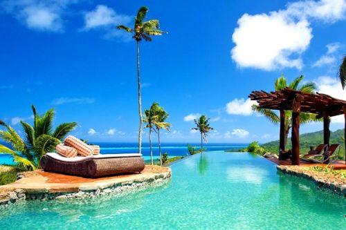 斐济 蓝色度假胜地