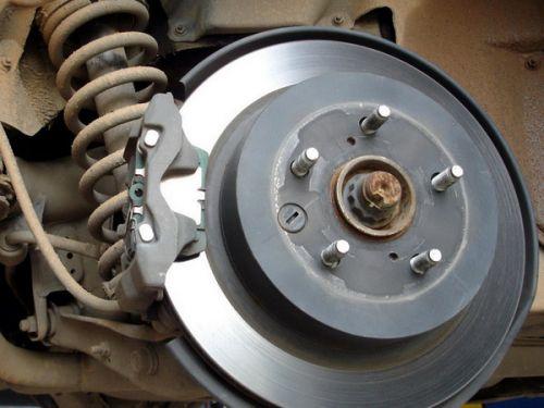 刹车系统养护 自己检查刹车片的小窍门