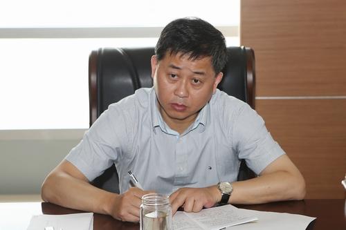 市领导杨崇华、范建国至市公安局检查指导工作2