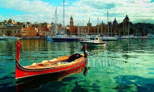 地中海风情 马耳他首都瓦莱塔的宁静夏日(2)