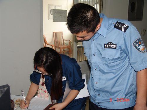 市公安局积极帮助寻找遗失物 受外籍人士感谢