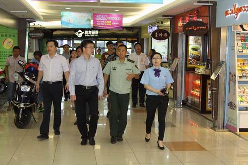 市公安局:市领导王飏、沈晓东、朱亚辉、沈一平分头督导检查企业安全生产及消防工作2