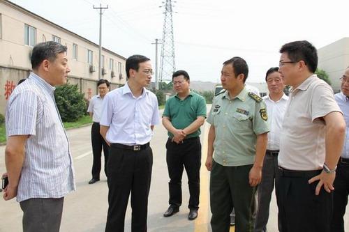 市公安局:市领导王飏、沈晓东、朱亚辉、沈一平分头督导检查企业安全生产及消防工作