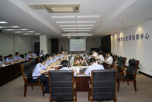 市领导惠建林、杨崇华、范建国至市公安局指导青奥安保工作3