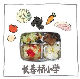 杭州6所小学晒午餐 你的孩子在学校吃什么