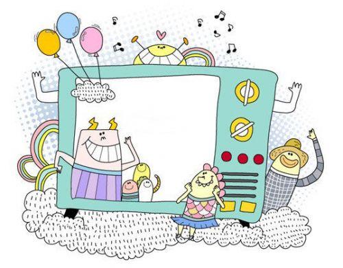 ppt 背景 背景图片 边框 动漫 卡通 漫画 模板 设计 头像 相框 500
