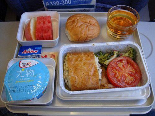 世界各地18种飞机餐