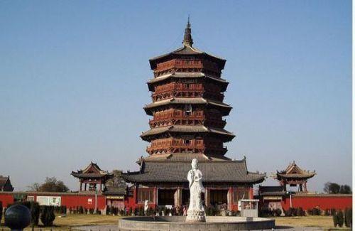 中国古代杰出的十大名塔:不止雷峰塔(2)