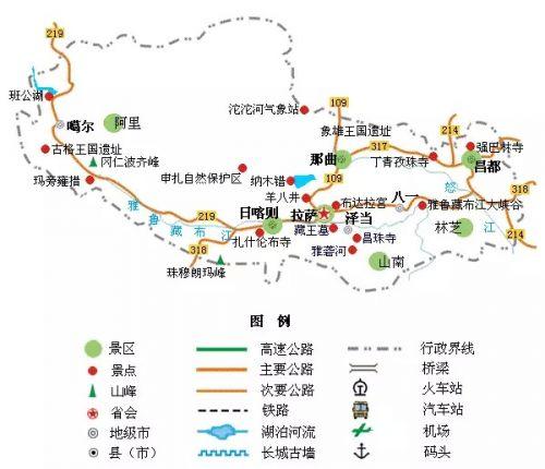 5.新疆旅游地图