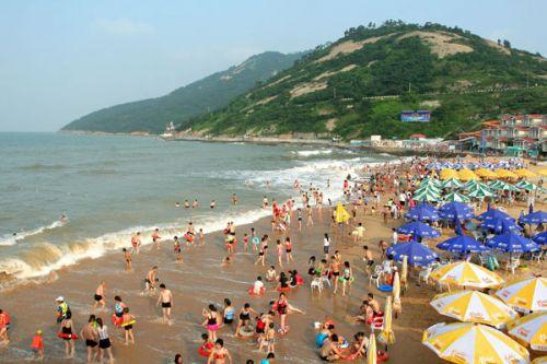江苏连云港连岛海滨旅游度假区位于黄海之滨海州湾畔的连岛,与连云港