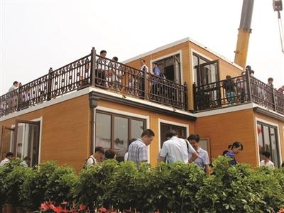 西安现3d打印别墅 3小时搭建二层