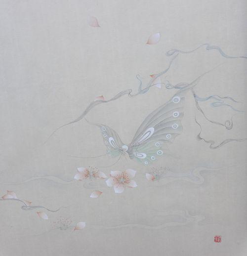 《蝶恋》第一版 纸本  30X40cm  2013年