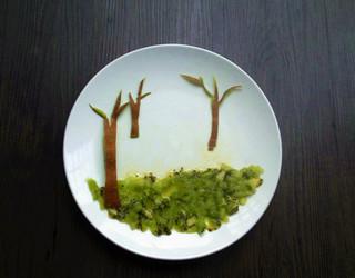 创意水果拼盘——童话的做法步骤:3