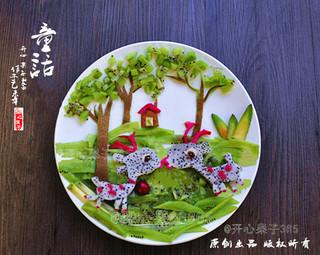 创意水果拼盘——童话的做法步骤:9