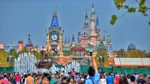 上海迪士尼游乐园大门