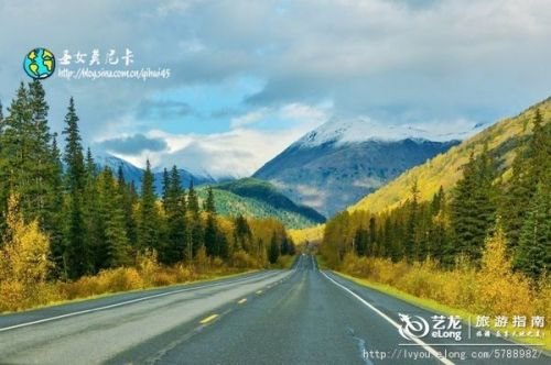 全球最美十大公路之一 seward highway