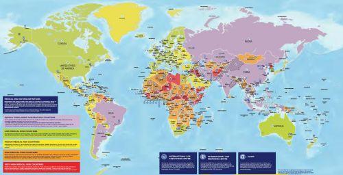 2017世界年度旅游风险地图:中国属危险较低国家