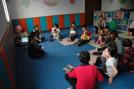说明: 0-3岁流动儿童早教活动