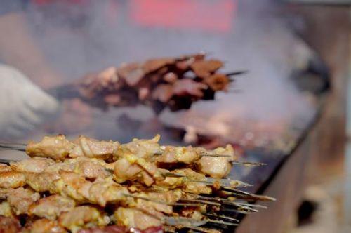 【新疆巴楚】来一场最正宗的红柳枝烧烤