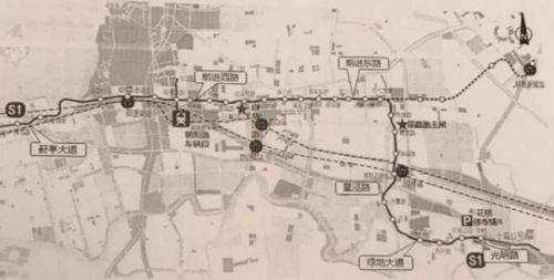 苏州轨道交通6号线,s1线详细规划方案披露