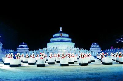 《冰雪梦飞扬》表演现场