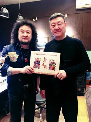 与韩磊合作纪录片《记住乡愁》主题曲