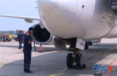 """""""我们能保证每一架飞机安全的起飞心中就比较欣慰了,让旅客能够"""