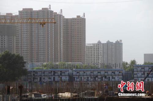 资料图:一处楼盘。<a target='_blank' href='http://www.chinanews.com/'>中新社</a>发 张云 摄