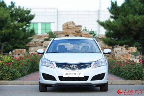 北京现代伊兰特ev正式上市 售19.98万-20.28万