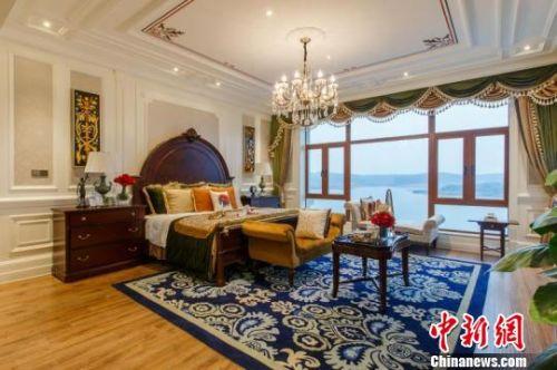 对闲置别墅进行盘活改造后,别墅的格调提升了不少。受访者供图