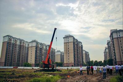 海洲新城二期项目开工建设