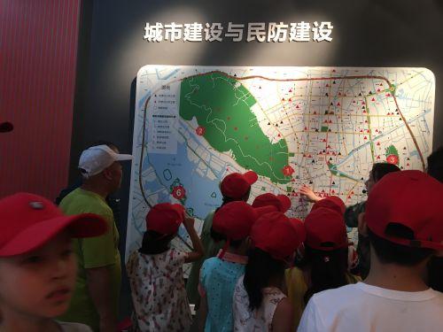 城市民防建设地图