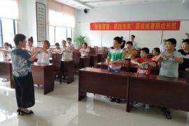传统文化课—学习手语歌