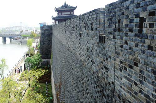 苏州环古城河健身步道相门段