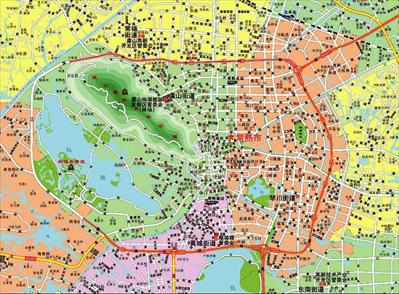 图:常熟市2018年版行政区划图局部。