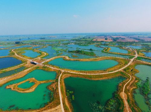 并创成国家湿地公园试点和省级水利风景区.