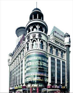蔡镇钰设计的上海新世界商城