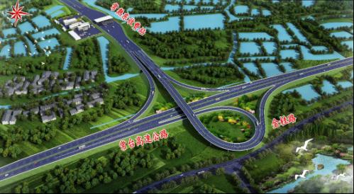 青墩塘路对接移位后澳门永利总站注册送38东互通效果图