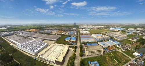 常熟阿特斯阳光电力科技有限公司俯瞰图